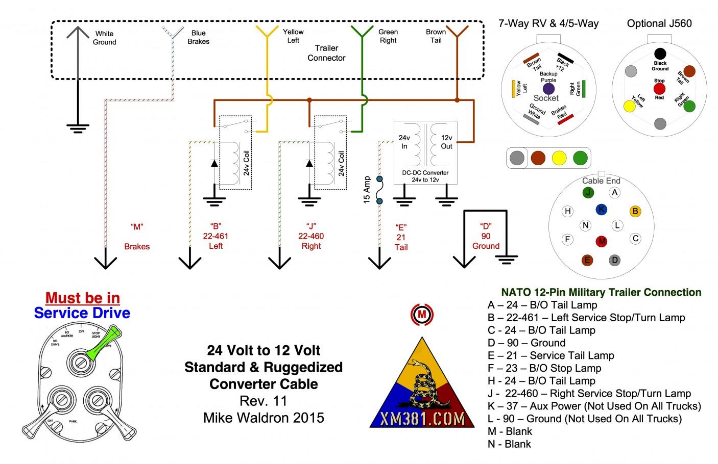 Trend Of 7 Way Round Trailer Wiring Diagram On Pin Light Six - Trailer Wiring Diagram 4 Pin