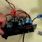 Turnraise 6 Gang Waterproof Car Auto Boat Marine Led Rocker Switch   Boat Switch Panel Wiring Diagram