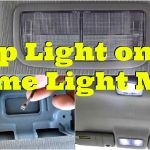 Tutorial: Map Light On With Dome Light Mod  Diycarmodz   Youtube   Dome Light Wiring Diagram