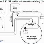 Two Wire Alternator Wiring   Data Wiring Diagram Today   One Wire Alternator Wiring Diagram Ford