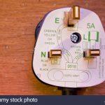 Uk Three Pin Plug With Wiring Diagram Stock Photo: 66893024   Alamy   Plug Wiring Diagram