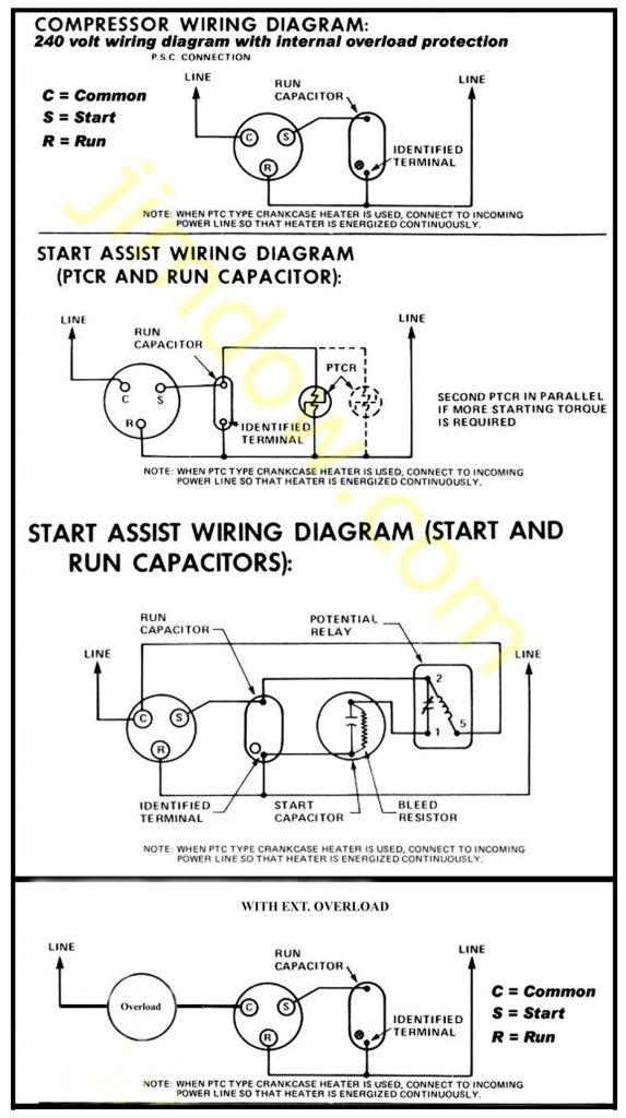 diagram semi hermeticpressor wiring diagram full version hd