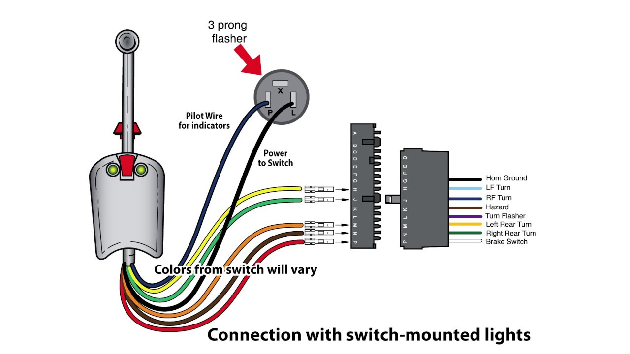 Universal Turn Signal Switch Wiring Diagram | Wiring Diagram