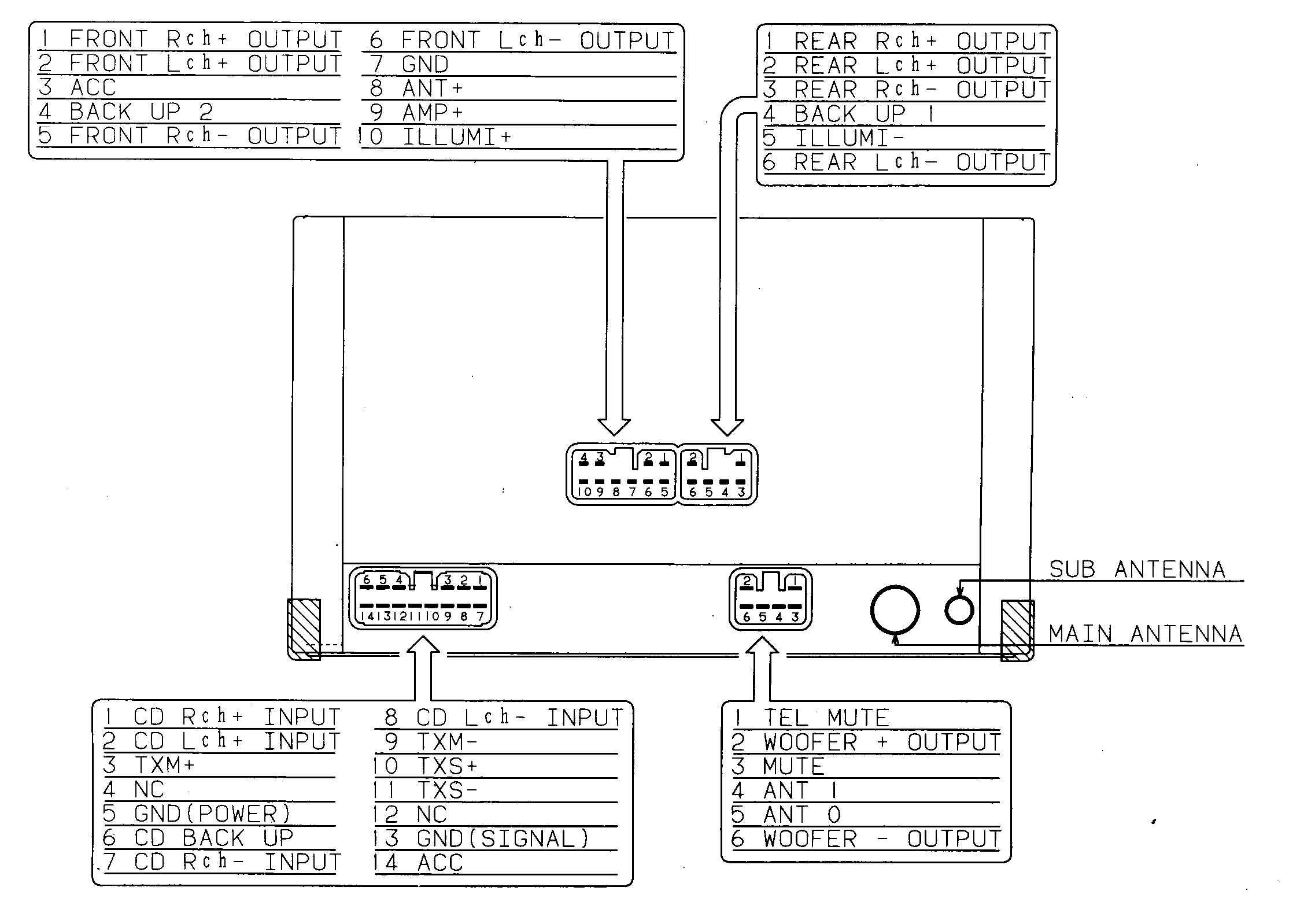 Universal Cd Player Wiring Diagram - Schema Wiring Diagram - Sony Xplod Car Stereo Wiring Diagram
