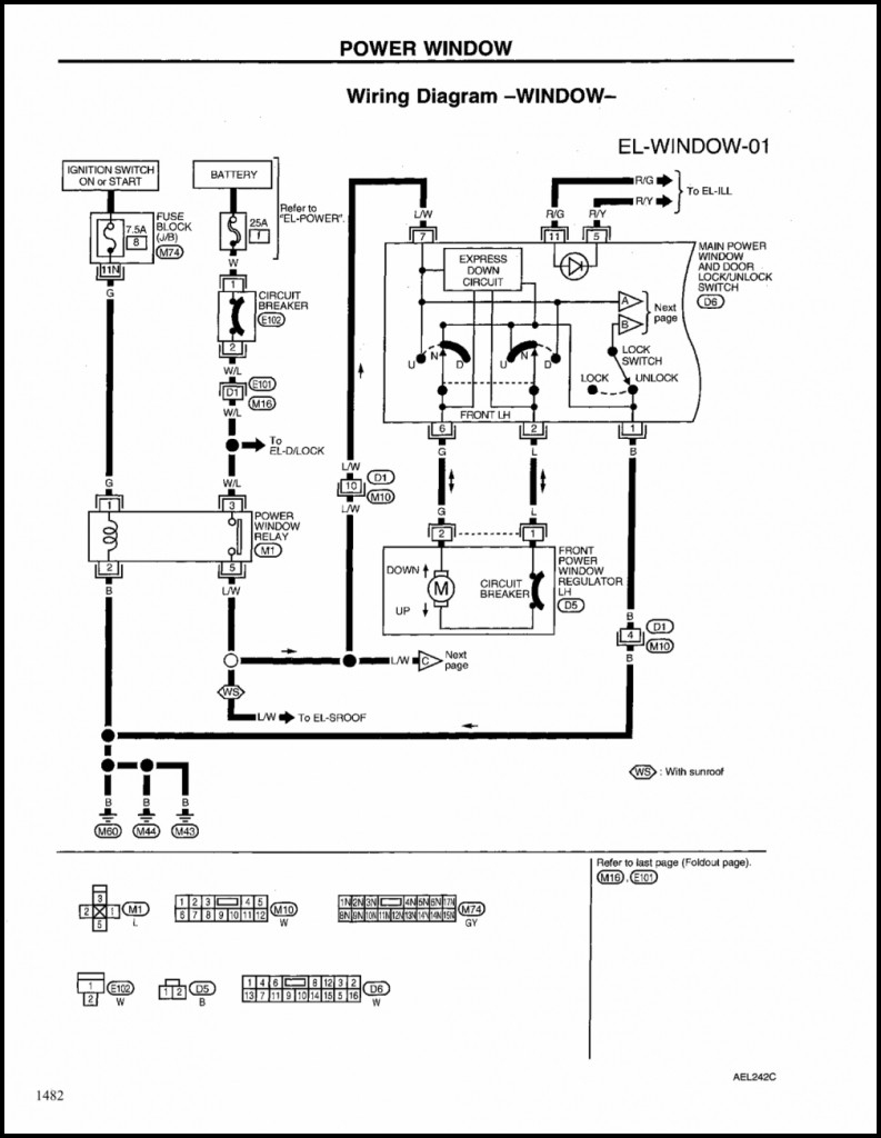 Universal Power Window Kit Wiring Diagram | Manual E-Books - Universal Power Window Wiring Diagram