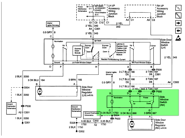 Universal Power Window Wiring Schematic | Manual E-Books - Universal Power Window Wiring Diagram