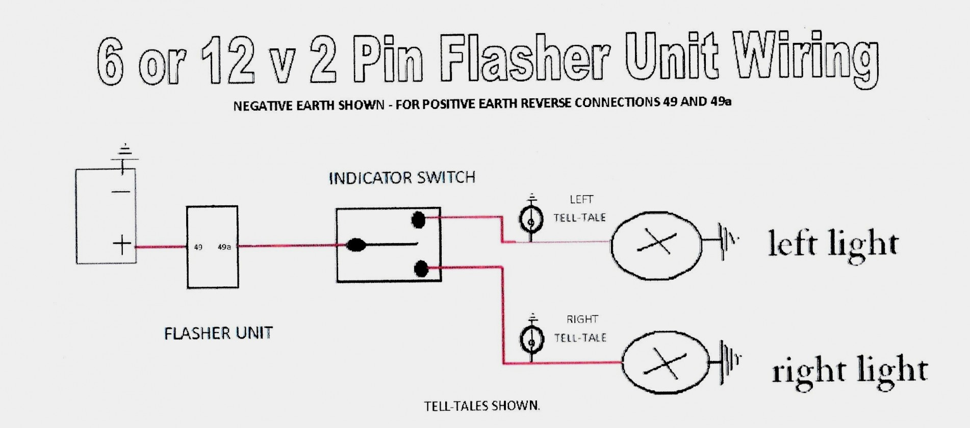 Universal Turn Signal Flasher Wiring Diagram - Trusted Wiring - Universal Turn Signal Wiring Diagram