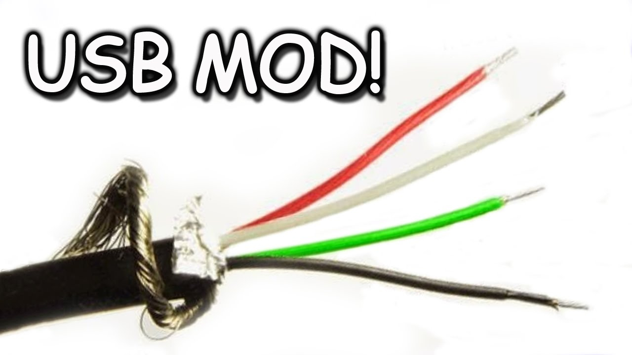 Usb Cord Modding, Extending, Splicing - Youtube - Micro Usb To Hdmi Wiring Diagram