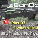 Utility Trailer 03   4 Pin Trailer Wiring And Diagram   Youtube   Boat Trailer Lights Wiring Diagram