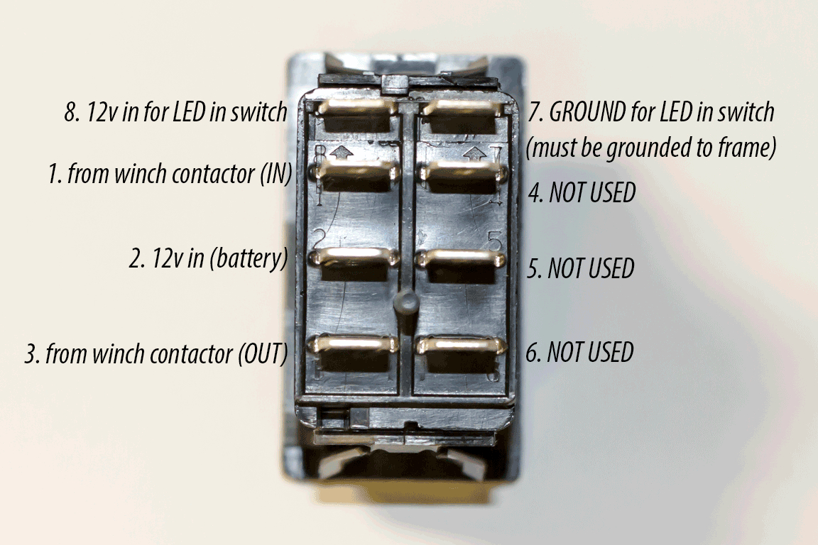 Utv Inc Carling Back Lit Led Switches & Diagrams - Carling Switch Wiring Diagram