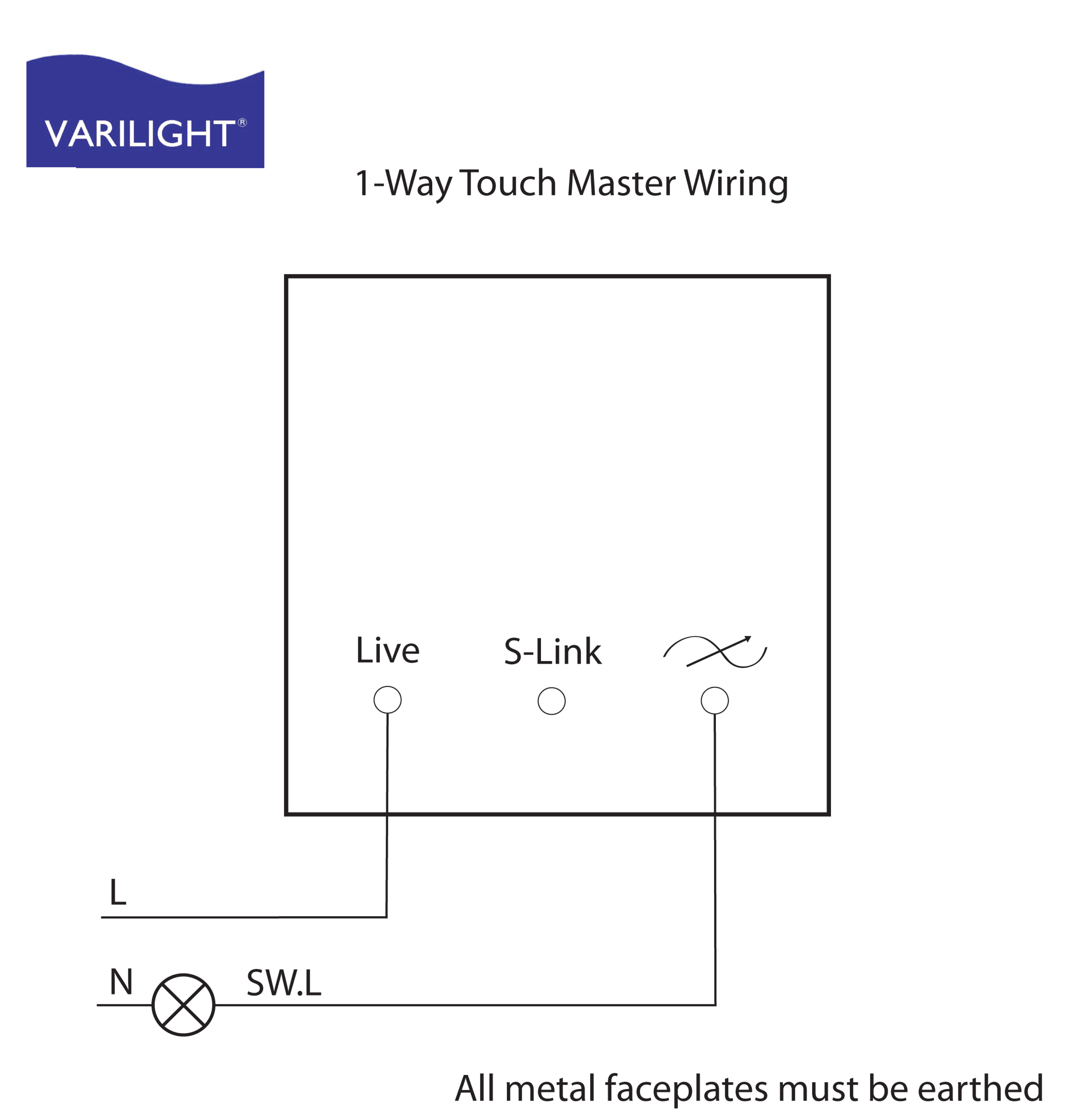 Varilight Wiring Diagrams - Dimmer Switch Wiring Diagram