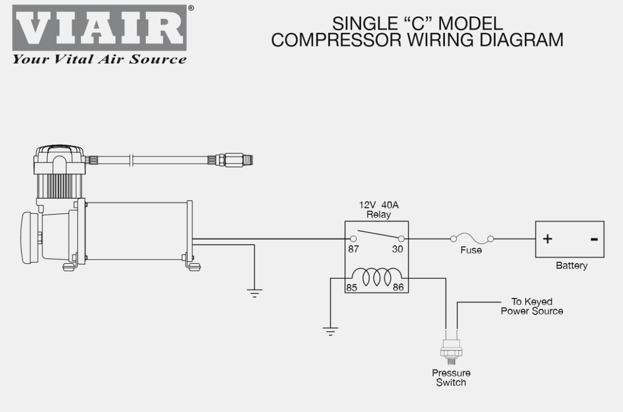 Viair Horn Wiring Diagram | Wiring Diagram - Train Horn Wiring Diagram