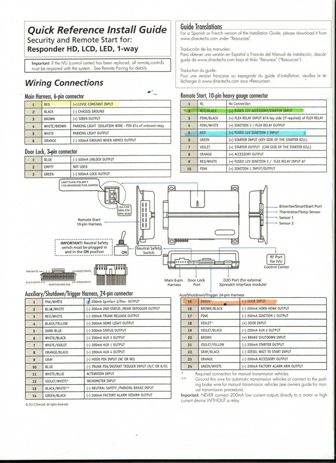 Viper 5706v Wiring Diagram