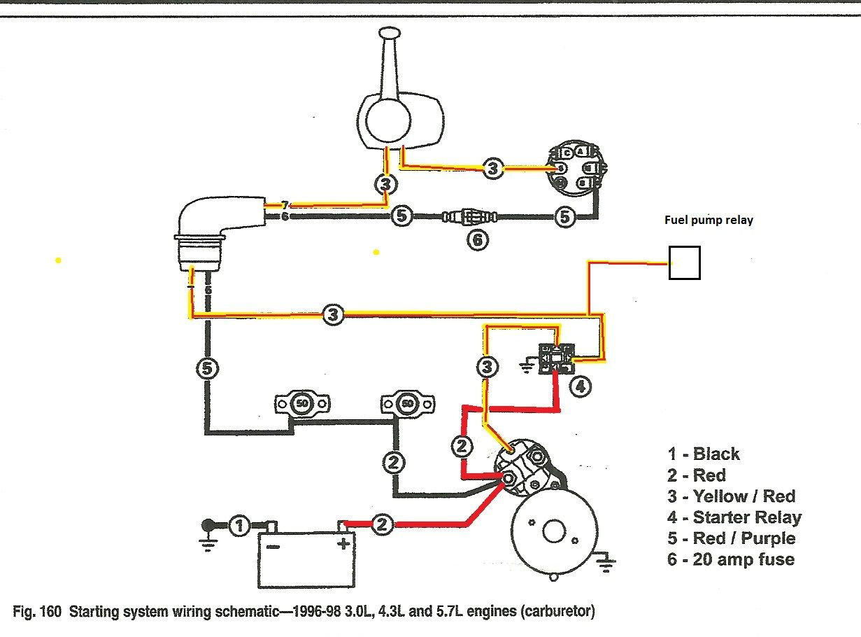 Volvo Penta Fuel Pump Wiring Diagram | Yate | Pinterest | Volvo - Starter Relay Wiring Diagram