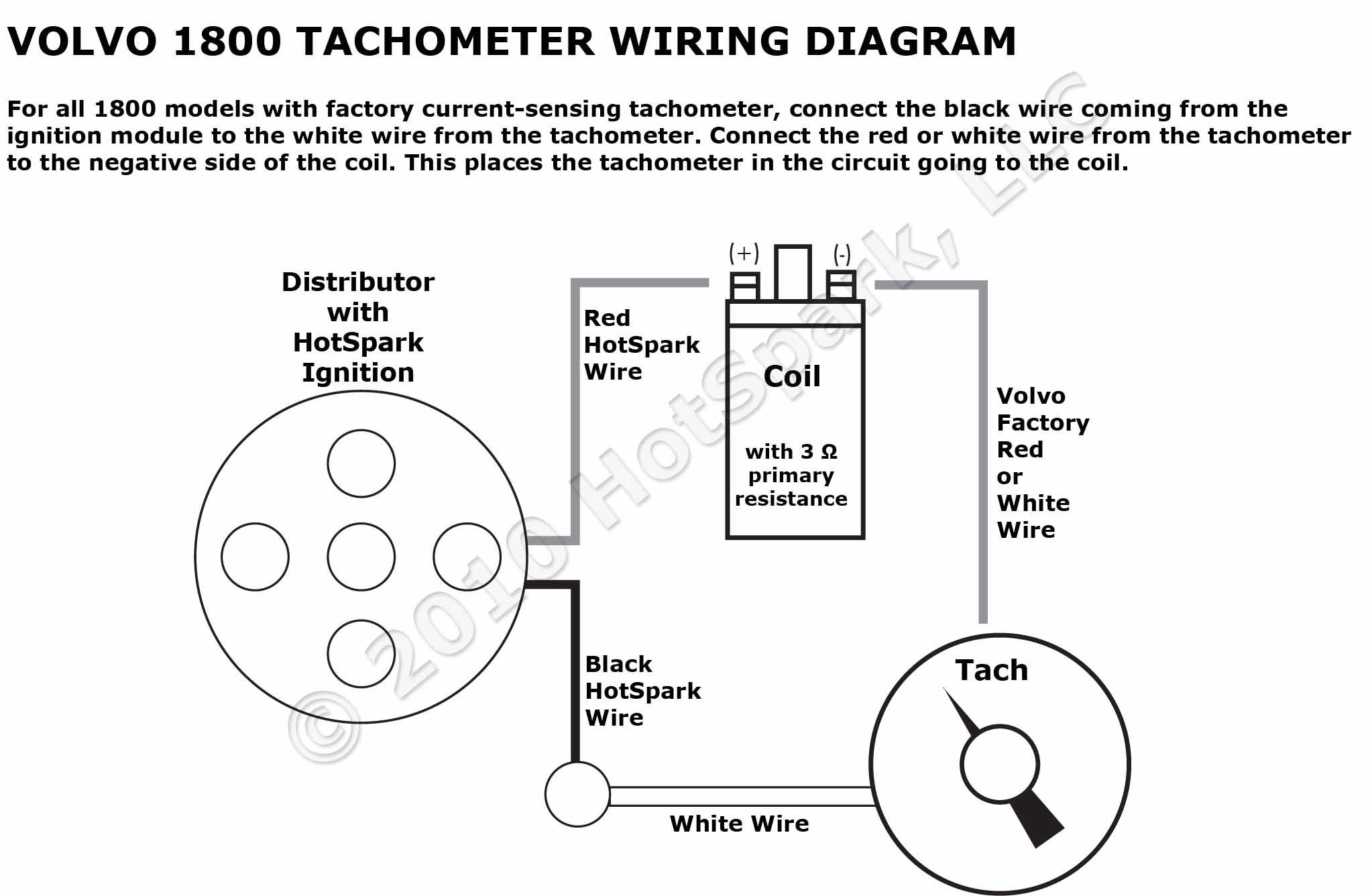 Volvo Tachometer Wiring - Wiring Diagrams Hubs - Tachometer Wiring Diagram