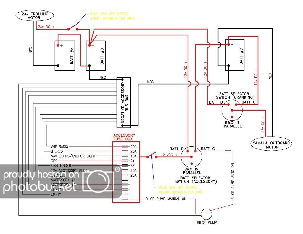 War Eagle Boat Wiring Diagram | Wiring Library - 4 Prong Trolling Motor Plug Wiring Diagram