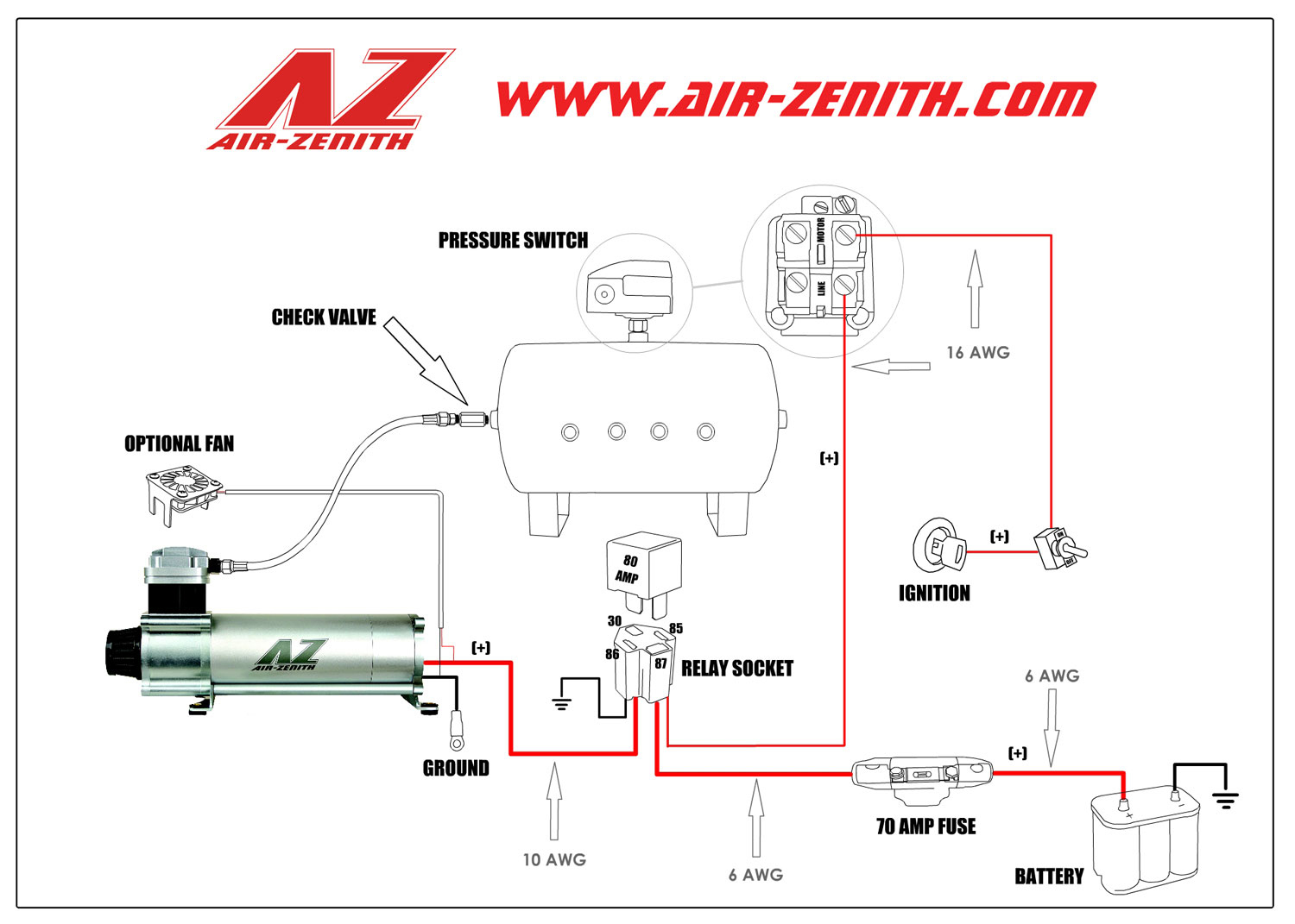 Welcome To Air Zenith:: - Compressor Wiring Diagram