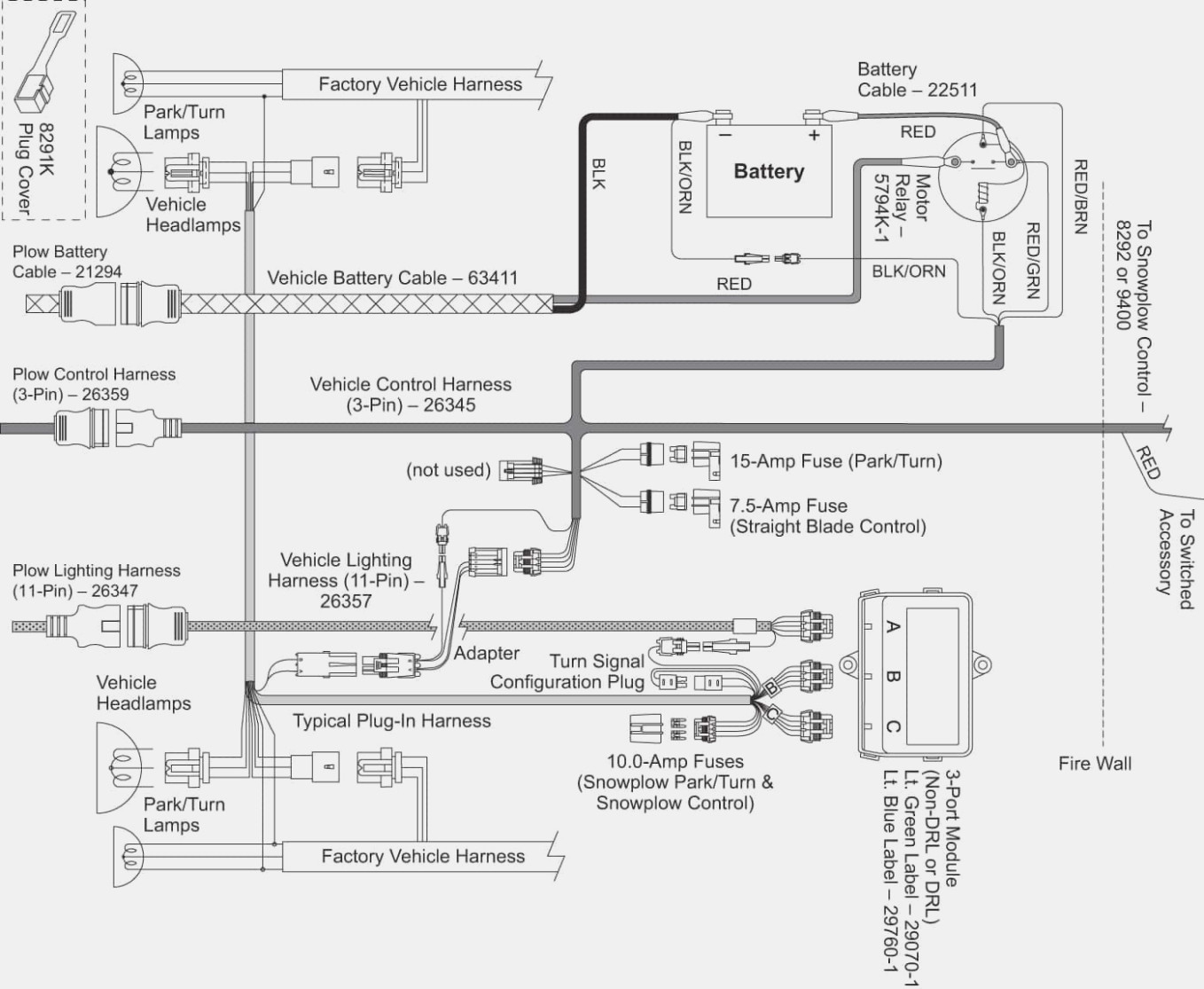 Fisher Plow Controller Wiring Diagram