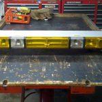 """Whelen Edge 9000 50"""" Amber 10 Strobe 8 Halogen With Pcds 9   Whelen Light Bar Wiring Diagram"""