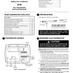 White Rodgers 1F79 User Manual | 6 Pages   White Rodgers Thermostat Wiring Diagram