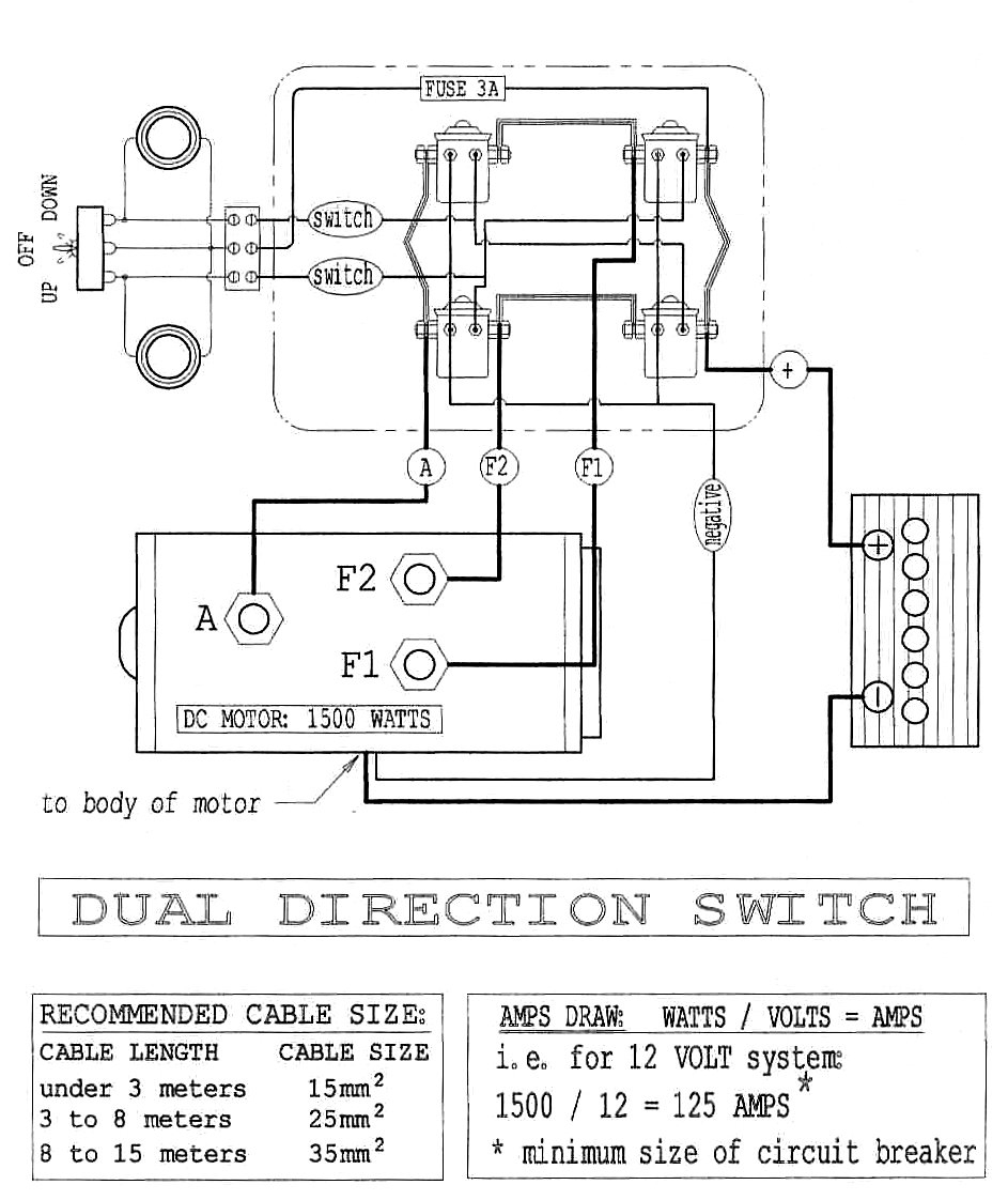 Winch Motor Wiring 3 Post Schema Wiring Diagram