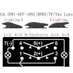 Winch Switch Wiring Question   Polaris Rzr Forum   Rzr Forums   7 Pin Rocker Switch Wiring Diagram