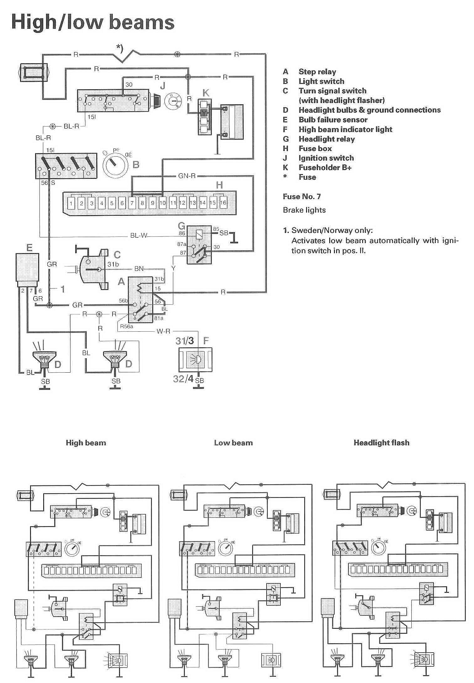 Window Switch Wiring Schematic | Wiring Library - Headlight Switch Wiring Diagram
