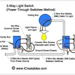Wire A Three Way Switch | Icreatables   Three Way Light Switch Wiring Diagram