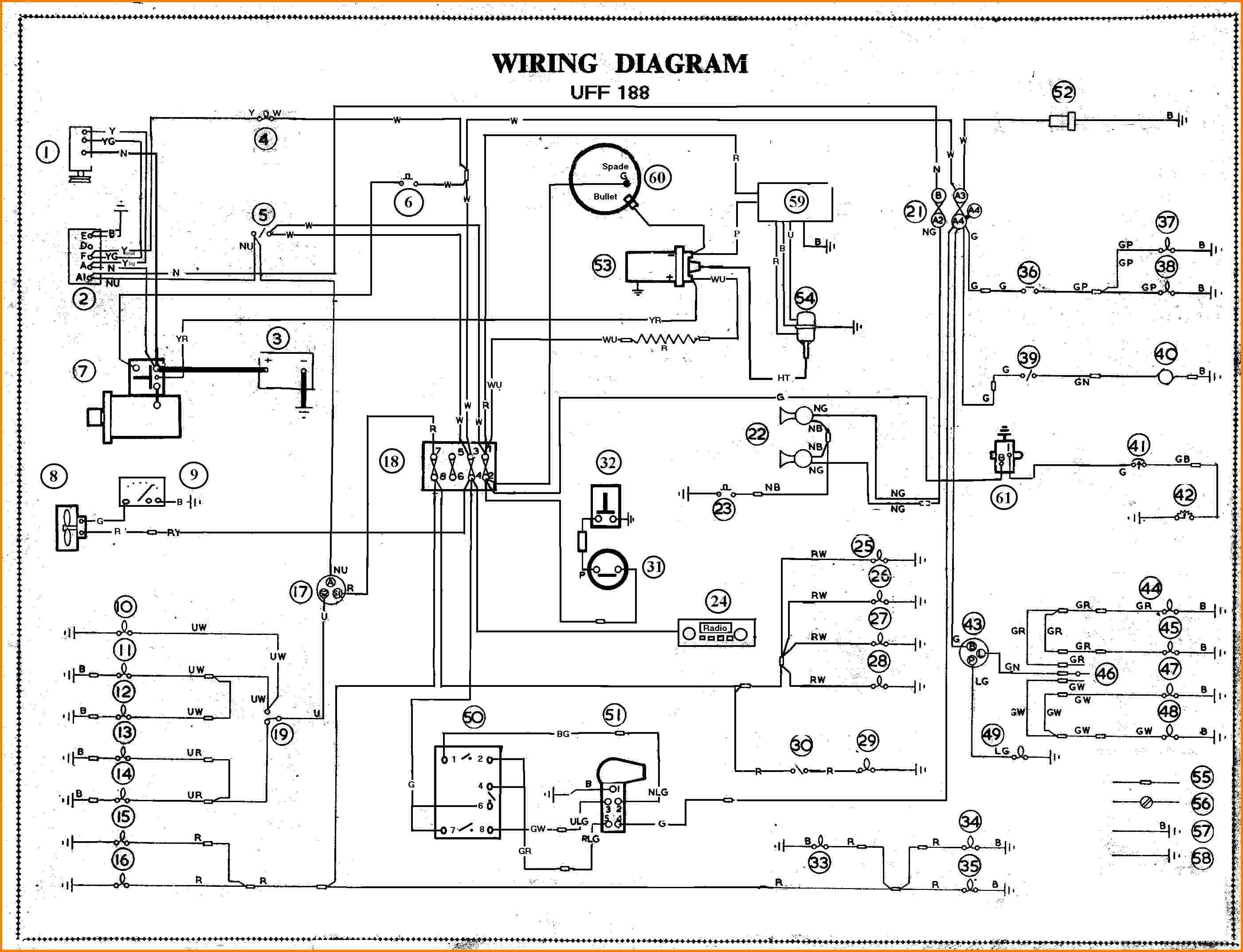 Wire Diagrams | Wiring Diagram - Automotive Wiring Diagram Symbols