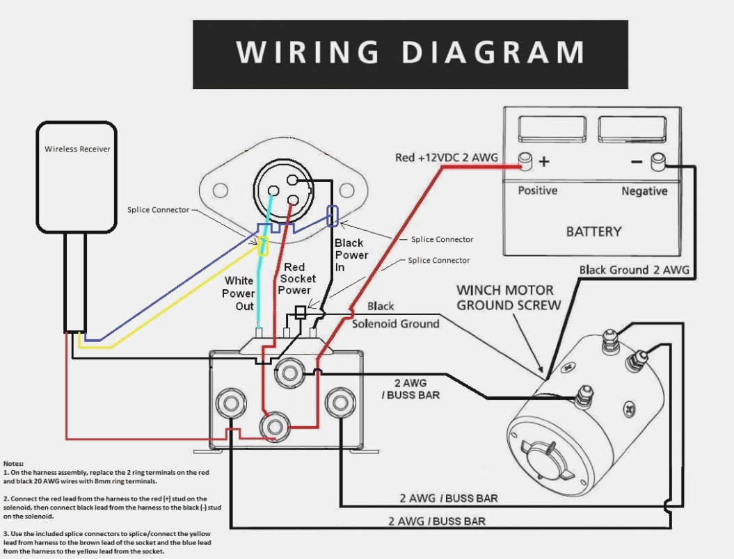 Wireless Winch Wiring Diagram - Design Of Electrical Circuit - Badland Wireless Winch Remote Control Wiring Diagram