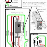 Wiring 240V Gfci Breaker – Creative Wiring Diagram Templates • – 2 Pole Gfci Breaker Wiring Diagram