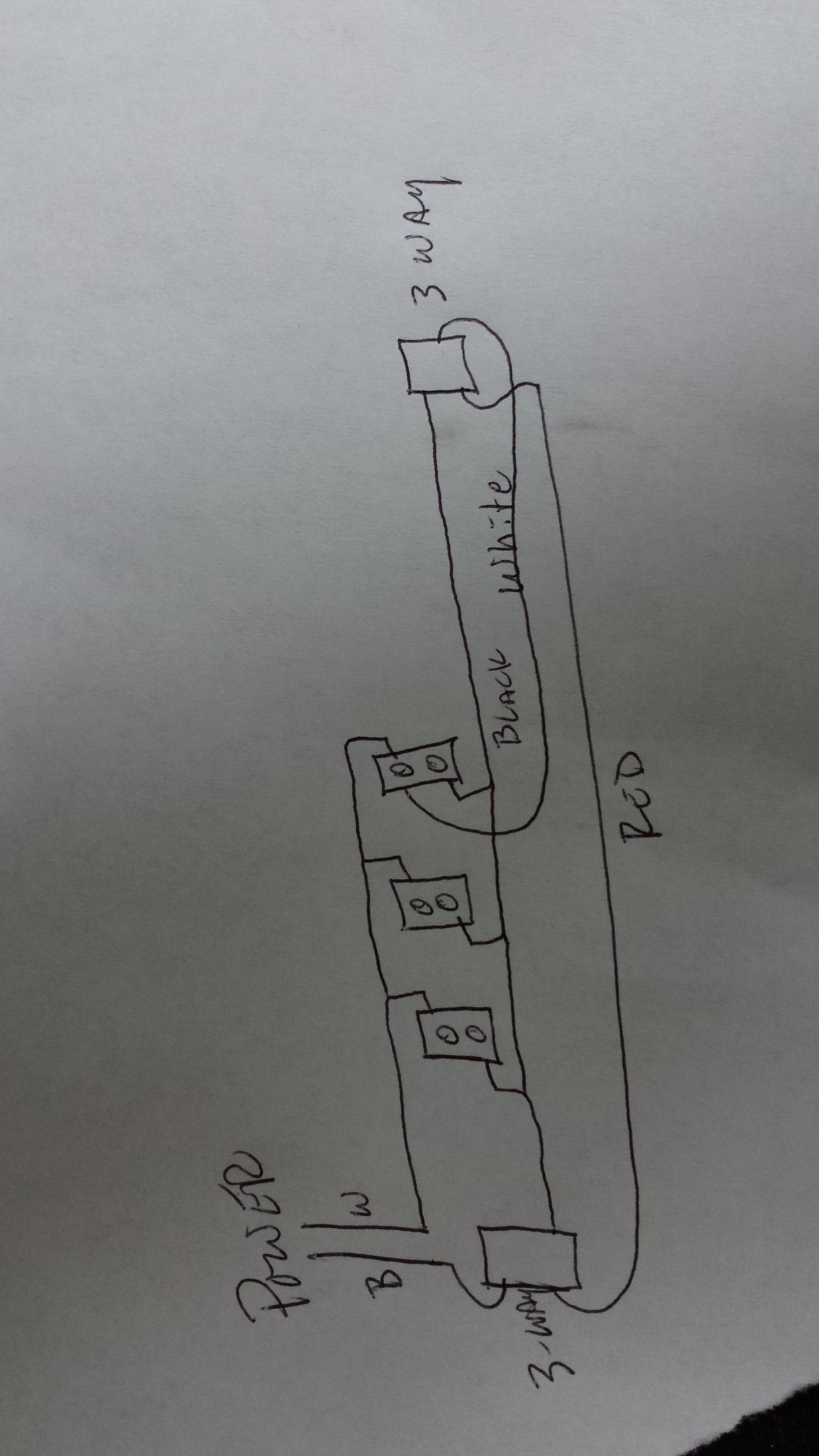 Wiring - 3 Way Switch With Multiple Outlets - Home Improvement Stack - Multiple Outlet Wiring Diagram