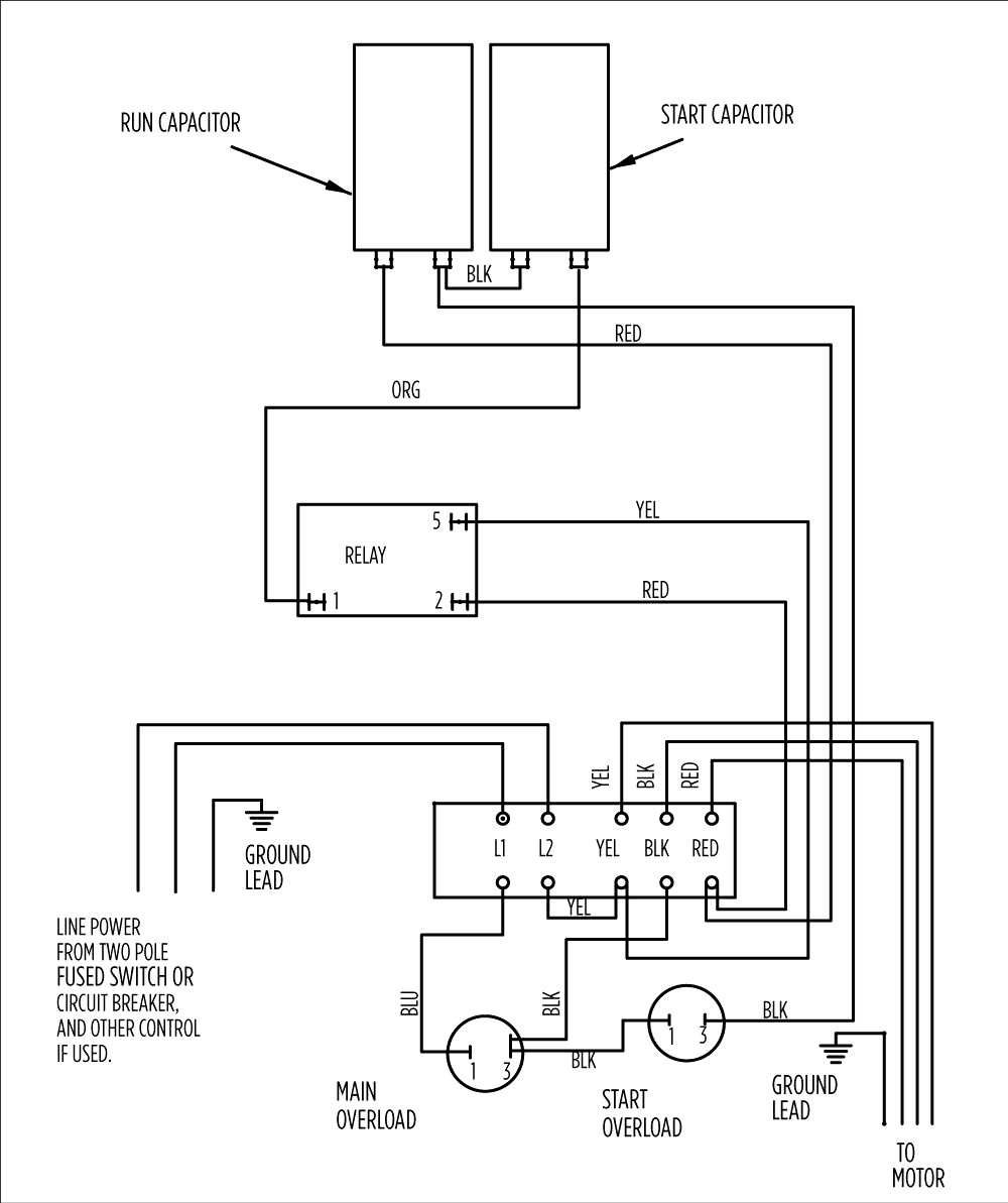 Wiring 3 Wire Submersible Pump - Wiring Diagram Expert - 3 Wire Submersible Well Pump Wiring Diagram