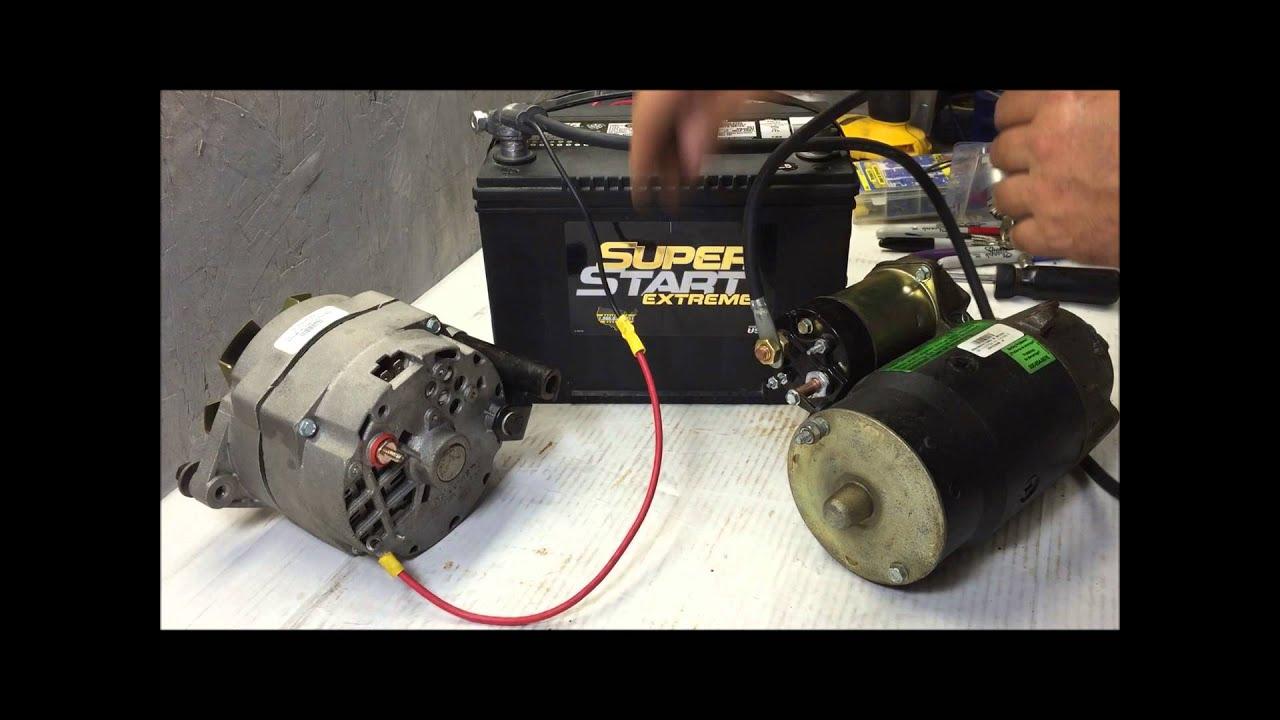 Wiring 76 Chevy 350 Alternator | Wiring Diagram - Alternator Wiring Diagram Chevy 350