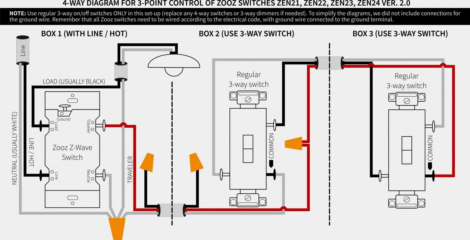 Wiring A 277 Volt 3 Way Switch - Wiring Diagram Blog - 3 Way Dimmer Switch Wiring Diagram