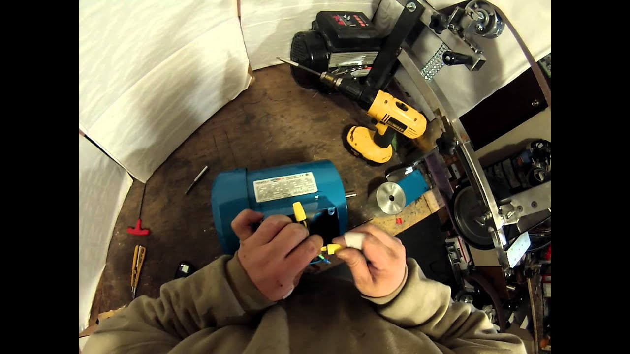 Wiring A 3 Phase Motor 230 Volt . Getting It Ready To Connect To A - Wiring Diagram For 230V Single Phase Motor