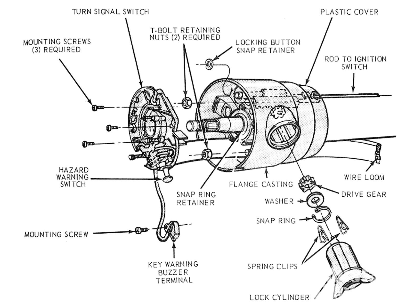 Wiring Adapter F100 To Gm Column   Wiring Diagram - Gm Steering Column Wiring Diagram