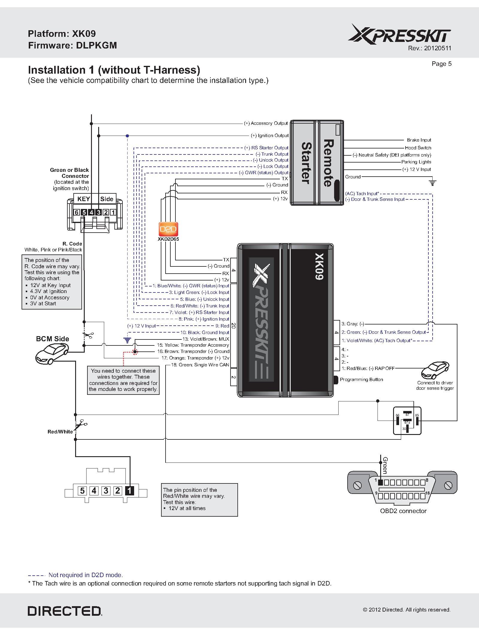 Wiring Bulldog Diagram Security 1640B Tr02 - Wiring Diagram - Bulldog Wiring Diagram