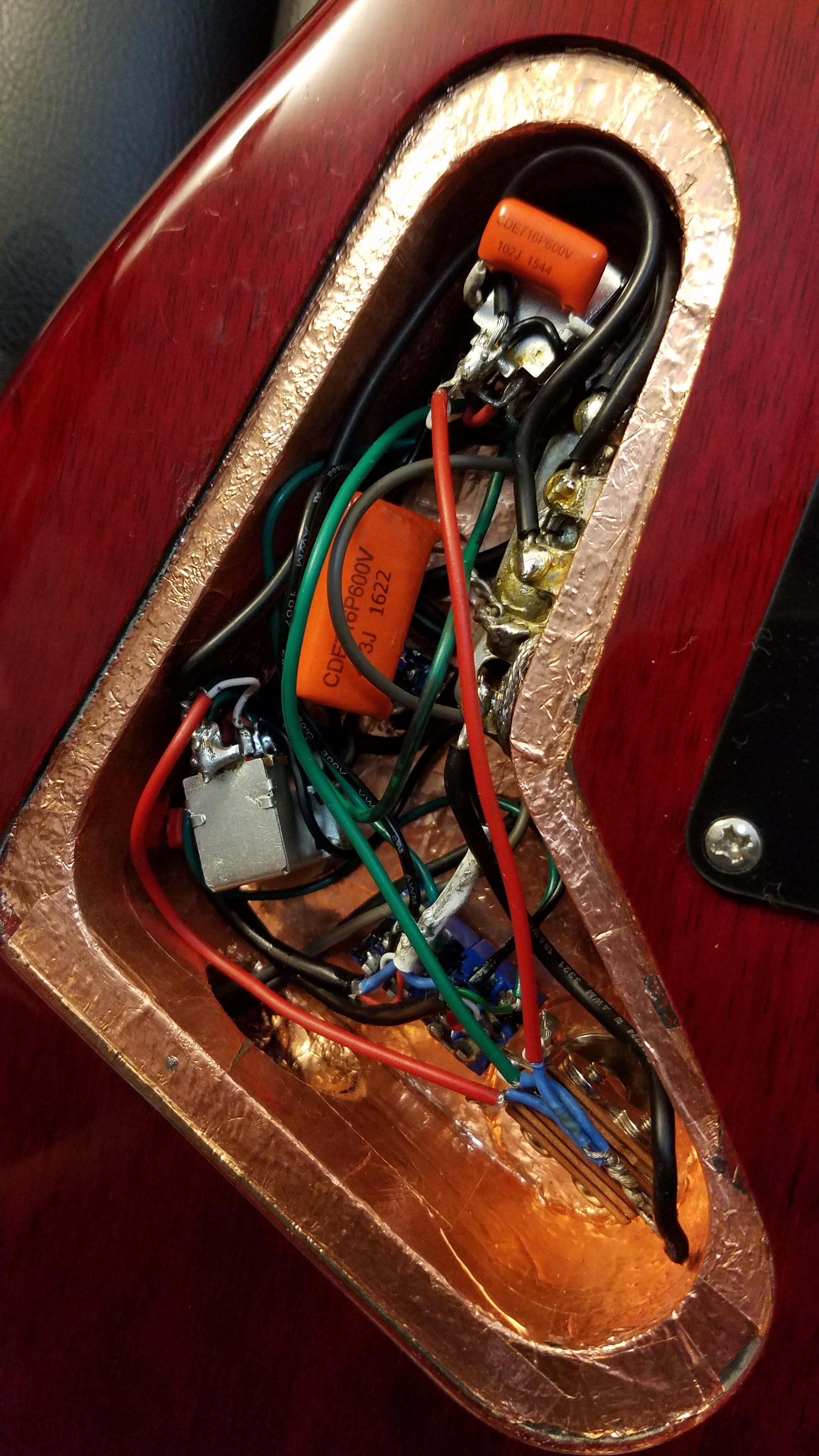 Wiring Color Code For Se Model G&b Pickups? | Official Prs Guitars Forum - Prs Wiring Diagram