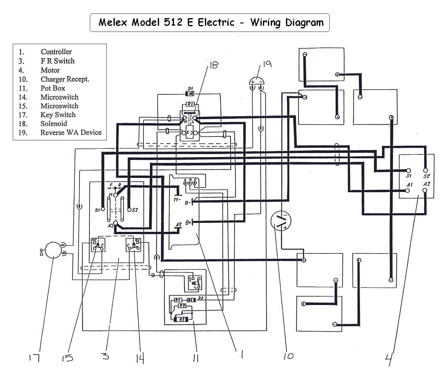 Wiring Diagram For 36 Volt Golf Cart | Manual E-Books - Golf Cart Wiring Diagram
