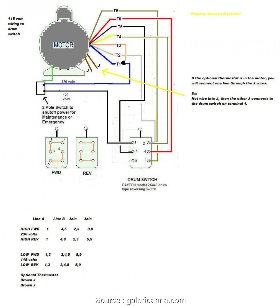 Wiring Diagram For A 3 Phase 15 Hp Ac Motor - Wiring Diagrams Hubs - Electric Motor Wiring Diagram Single Phase