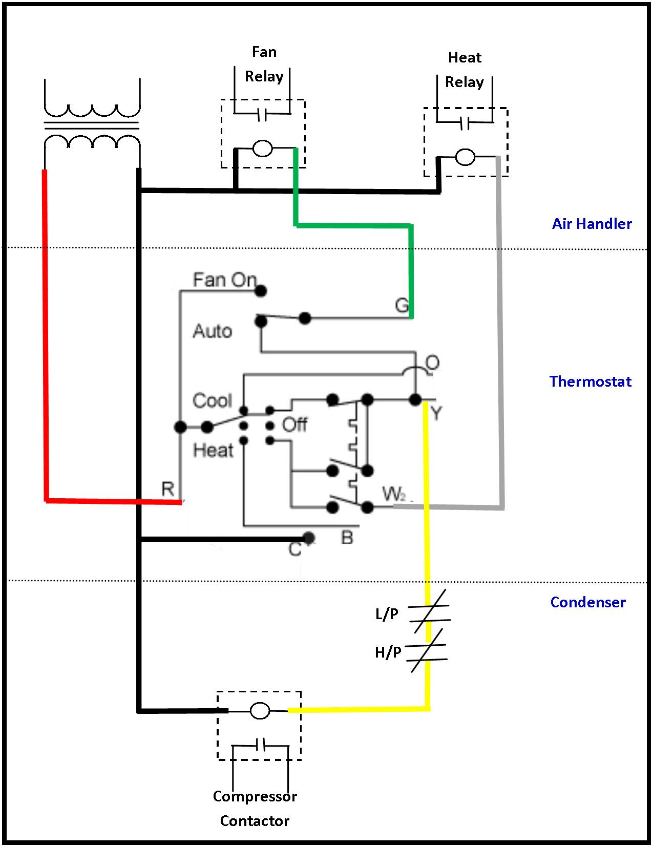 Wiring Diagram For A C Compressor - Wiring Diagram Detailed - Ac Compressor Wiring Diagram