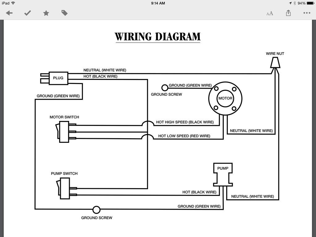 Cooler Motor Wiring Diagram