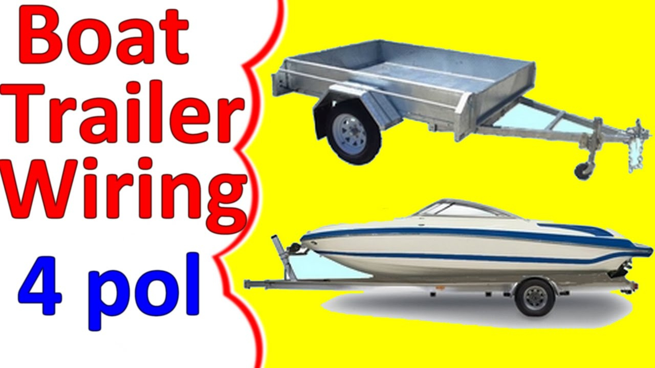 Wiring Diagram For Boat Trailers - Wiring Diagram Detailed - Boat Trailer Lights Wiring Diagram