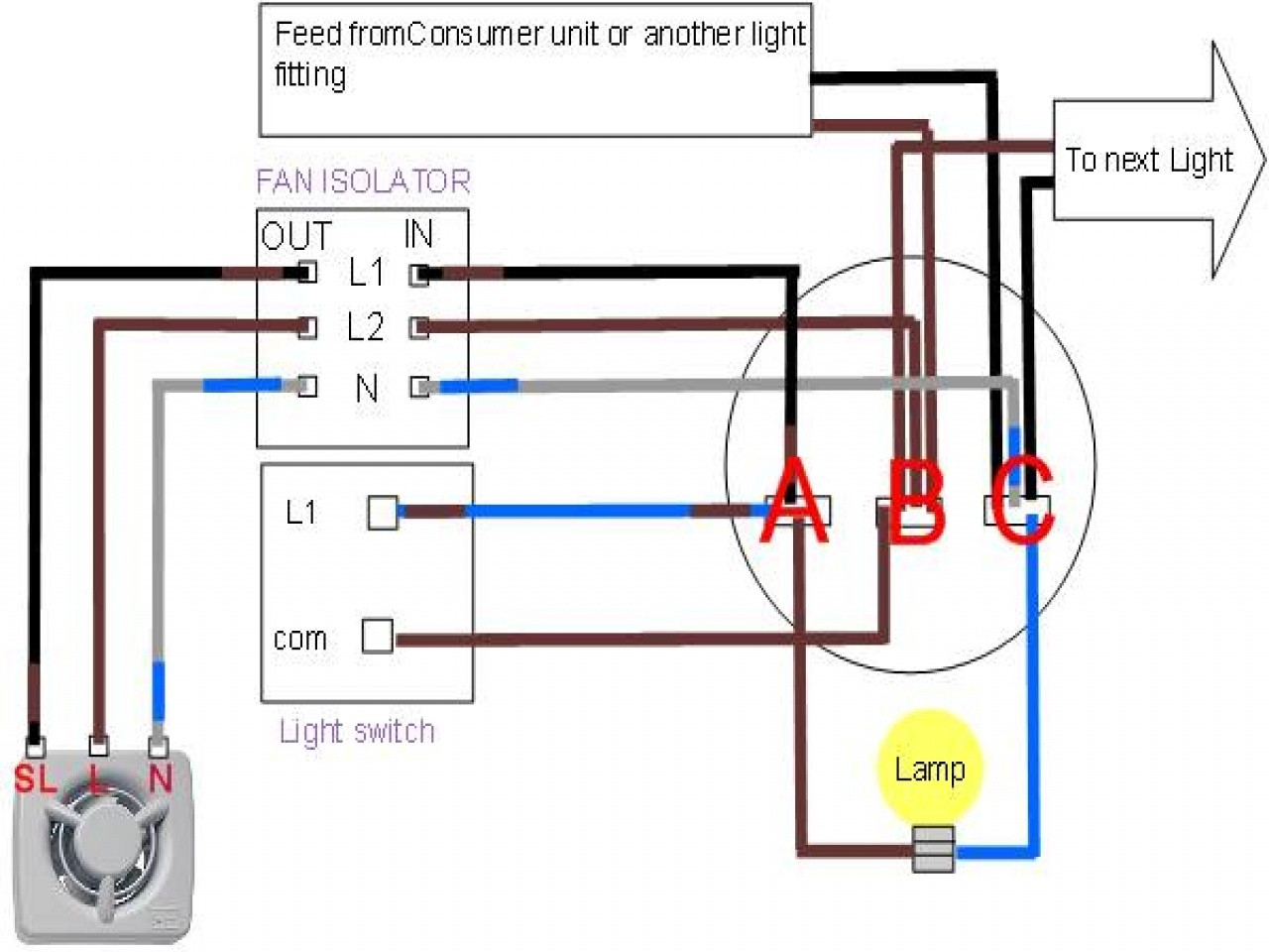 Wiring Diagram For Broan Exhaust Fan Light | Wiring Diagram - Wiring A Bathroom Fan And Light Diagram