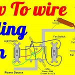 Wiring Diagram For Ceiling Fan And Light   Today Wiring Diagram   Wiring A Ceiling Fan With Two Switches Diagram