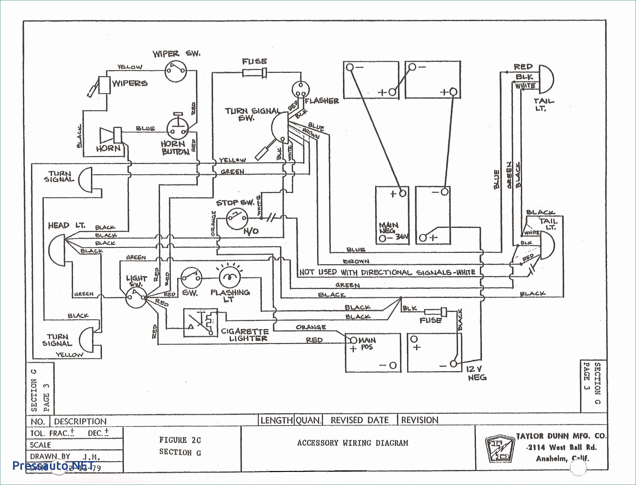 12 Volt Wiring Diagram For Lights from 2020cadillac.com
