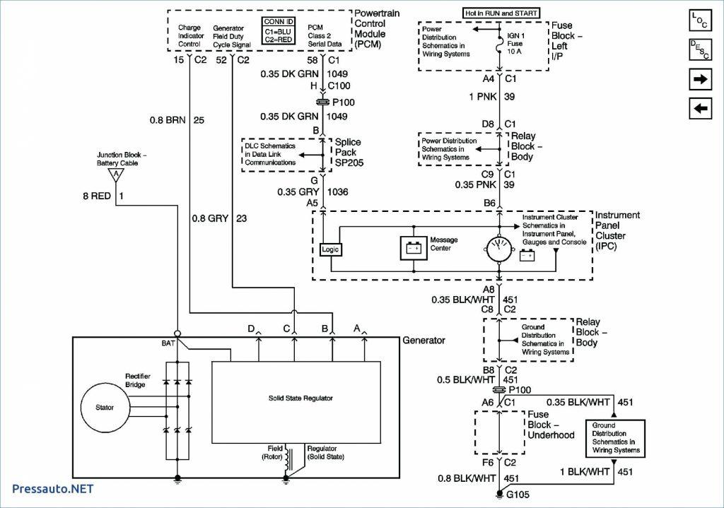 Gm Alternator Wiring Diagram Internal Regulator from 2020cadillac.com
