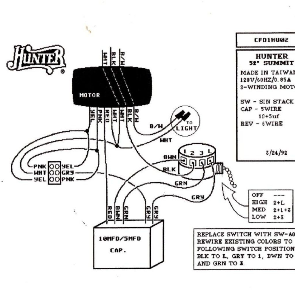 Wiring Diagram For Light Kit | Schematic Diagram - Hunter 3 Speed Fan Switch Wiring Diagram