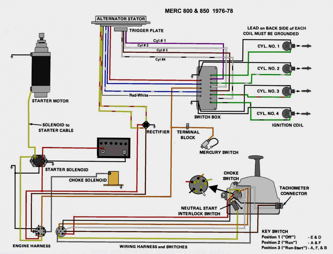 Wiring Diagram For Mercury Outboard Motor - Wiring Diagram Data - Wiring Diagram For Mercury Outboard Motor